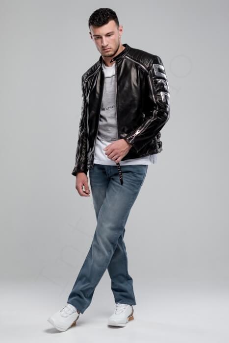 Куртка кожаная мужская 63-2018