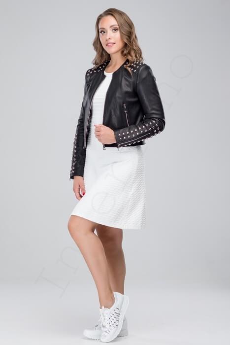Куртка женская 50-2018 сбоку
