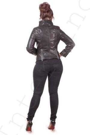 Куртка женская 35-2017 сзади