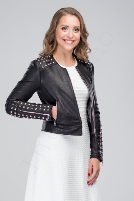 Куртка женская 50-2018 крупным планом