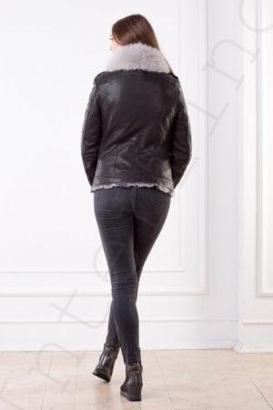 Куртка женская 86-2017 сзади