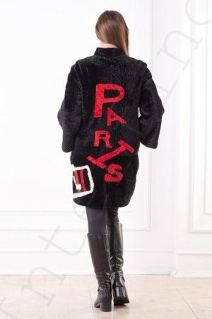 Пальто женское 200-2016 сзади