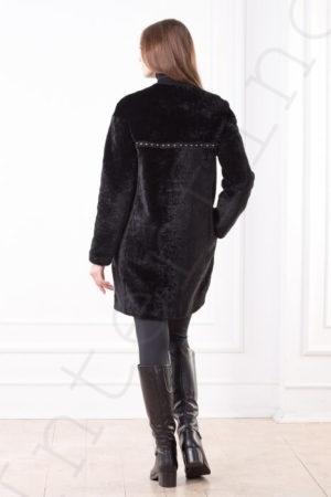 Пальто женское 85-2017 сзади