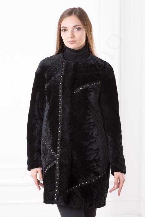 Пальто женское 85-2017 крупным планом