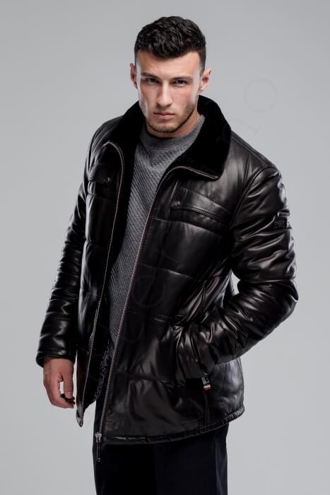 Куртка мужская 03-2019 крупный план