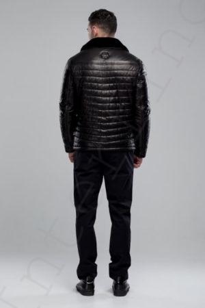 Куртка мужская 101-2018 сзади