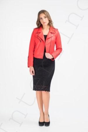 Куртка женская 28-2015 красная