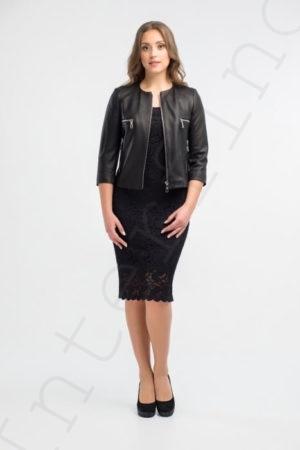 Куртка женская 53-2017 черная