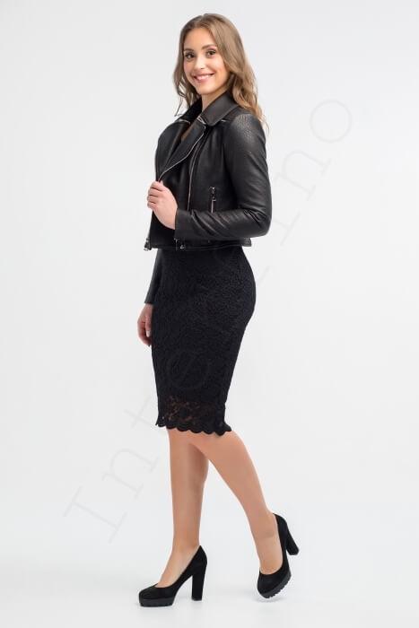 Куртка женская 63-2015 сбоку