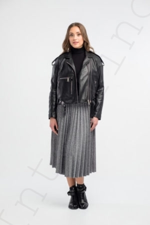 Куртка женская 24-2018 черная