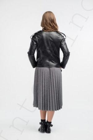 Куртка женская 24-2018 черная сзади