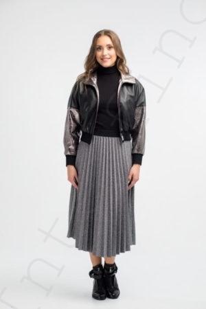 Женская куртка 27-2018 черная