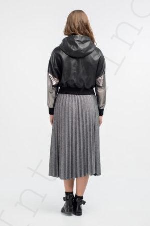 Женская куртка 27-2018 черная сзади