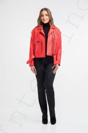 Куртка женская 24-2018 красная