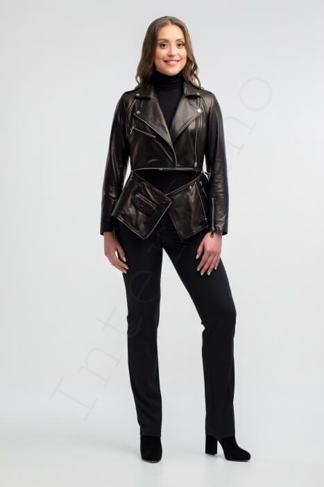 Куртка женская 22-2018 расстегнутая