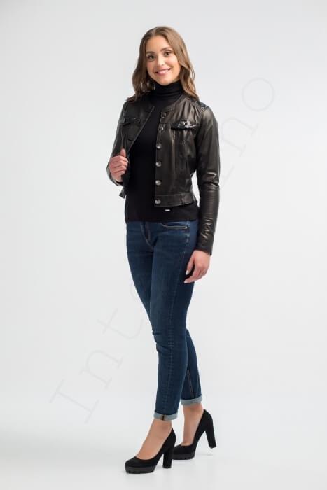 Куртка женская 51-2015 сбоку