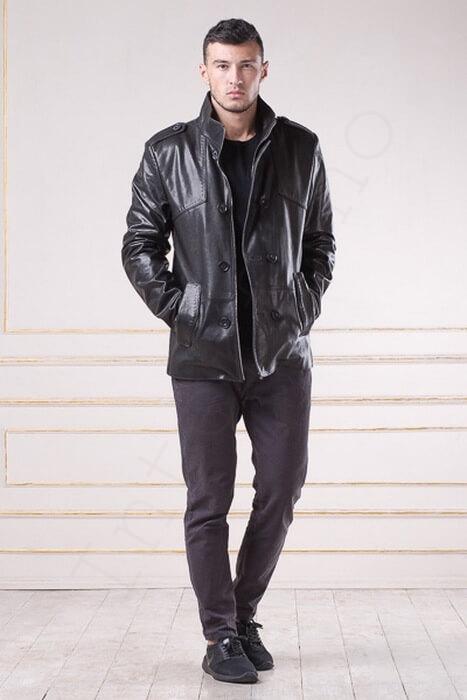 Куртка кожаная 79-2013