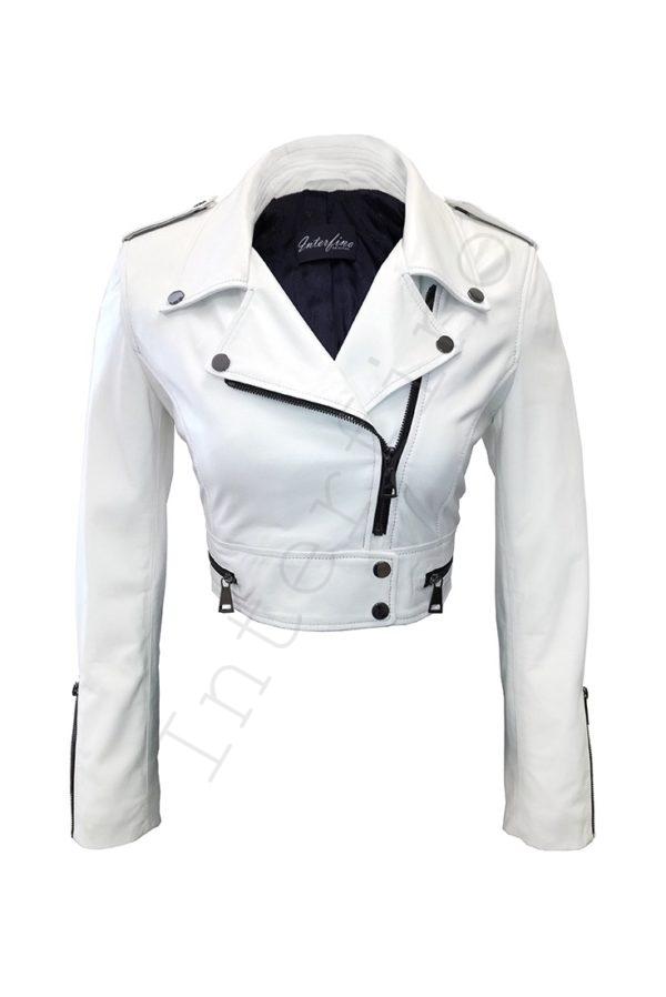 Куртка женская 68-2017 белая
