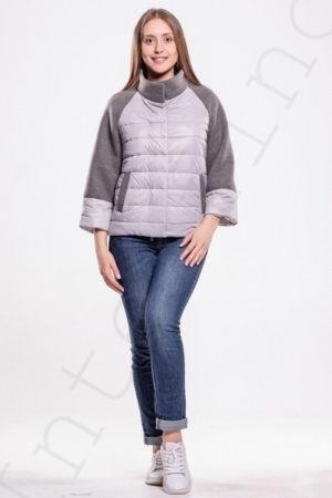 Комбинированная куртка 10-2019
