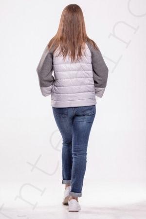 Комбинированная куртка 10-2019 сзади