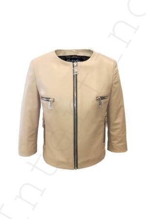Куртка женская 53-2017 бежевая