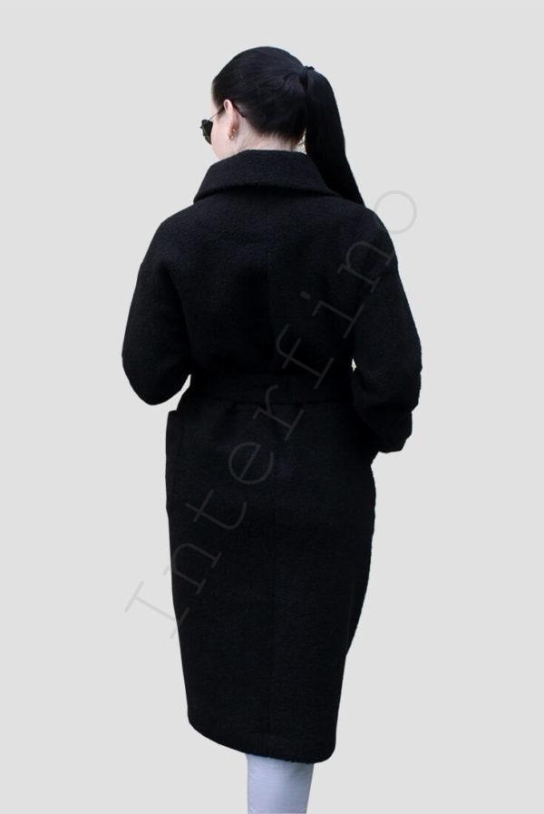 Шуба женская из эко меха 45-2019 сзади