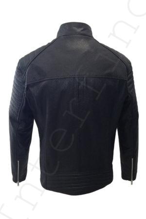 Мужская куртка из натуральной фактурной кожи 21-2018 cpflb