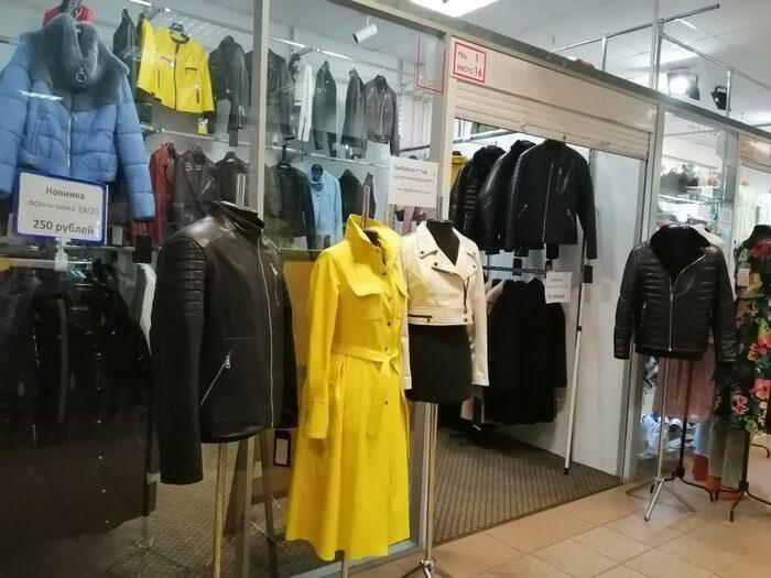 Магазин интерфино в ТЦ силуэт, Минск (экстерьер)