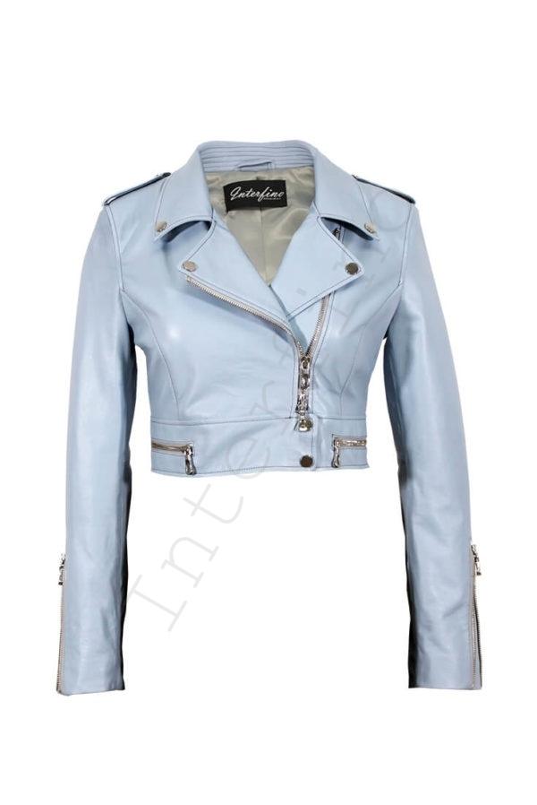 Куртка женская 68-2017 голубая