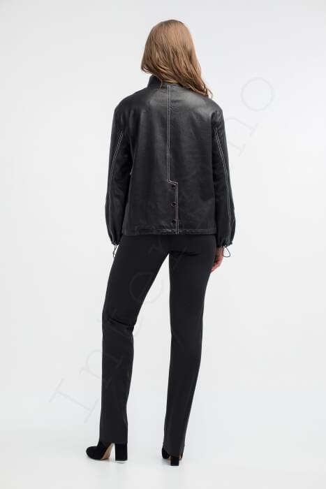 Куртка женская 09-2018 вид сзади