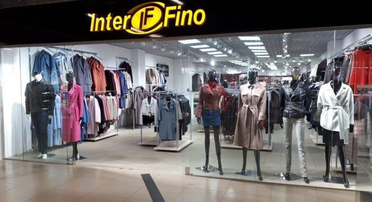 Экстерьер магазина Интерфино в ТЦ Скала, Минск