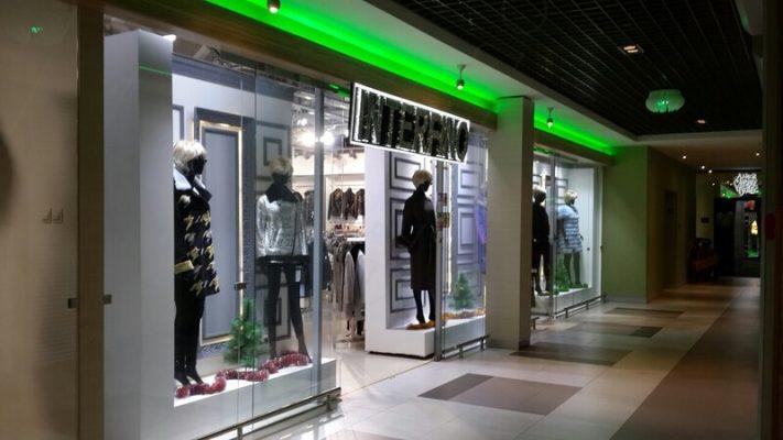 Экстерьер магазина InterFino в ТЦ «GreenЦентр», Витебск